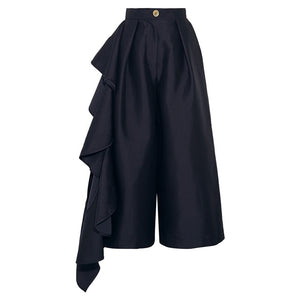 "The ""Mizu"" Ruffled High Waist Trousers"