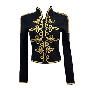 "The ""Empress"" Mandarin Collar Jacket"