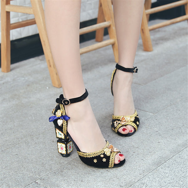 "The ""Imperial"" High Heel Pumps - Multiple Colors"