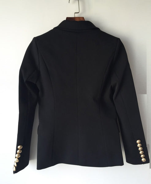 "The ""Priscilla"" Slim Fit Blazer - Jet Black"