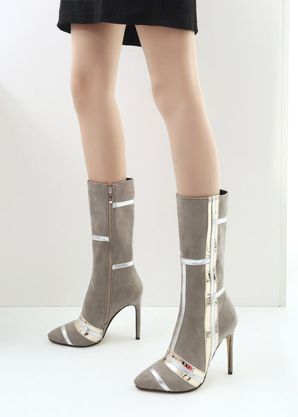 "The ""Torino"" Knee High Boots - Multiple Colors"