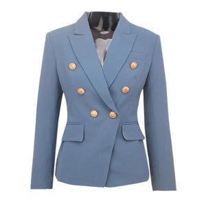 "The ""Priscilla"" Slim Fit Blazer - Periwinkle"