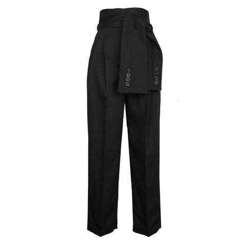 "The ""Stanton"" Belted High Waist Trousers - Multiple Colors"