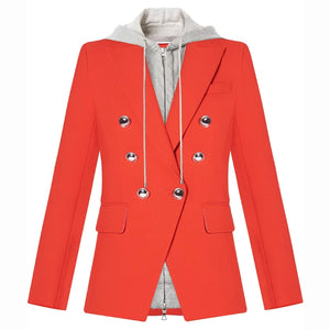 "The ""Zuri"" Hooded Blazer"
