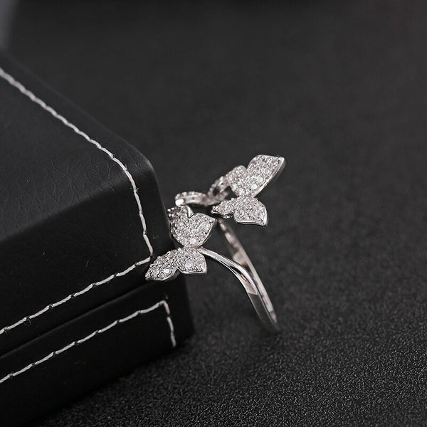 "The ""Butterfly Effect"" Crystal Ring"