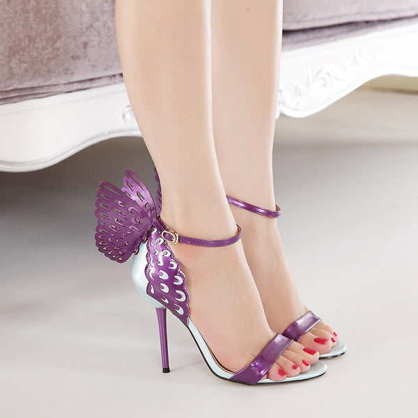 "The ""Butterfly Effect"" High Heel Pumps - Multiple Colors"