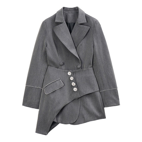 "The ""Bridgette"" Splice Blazer"