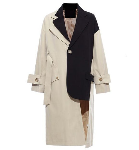 "The ""Manchester"" Splice Trench Coat"