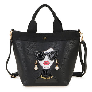"The ""Diva"" Faux Leather Handbag Purse - Multiple Colors"
