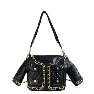"The ""Cynthia"" Quilted Faux Leather Handbag Purse"