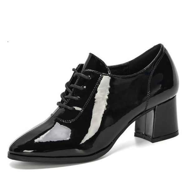 "The ""Roxanne"" Patent Leather High Heel Pumps - Multiple Colors"