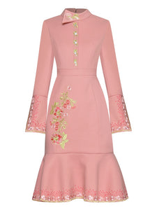 "The ""Blossom"" Long Sleeve Dress - Multiple Colors"