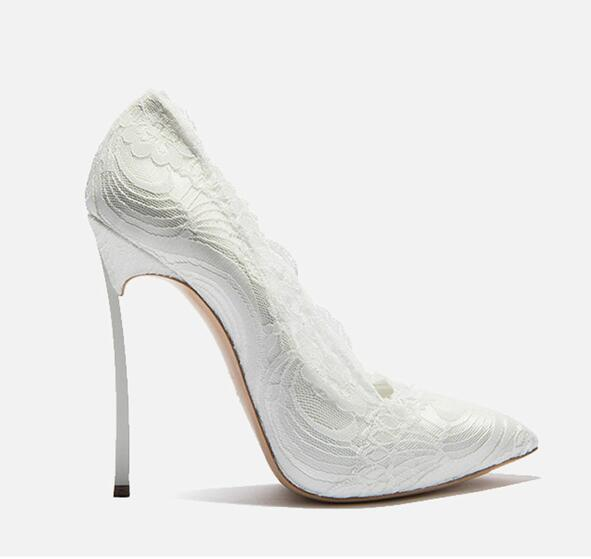 "The ""Roselyn"" Lace High Heel Pumps - Multiple Colors"