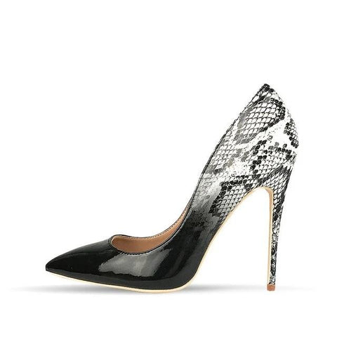"The ""Celine"" Snakeskin High Heel Pumps - Multiple Colors"