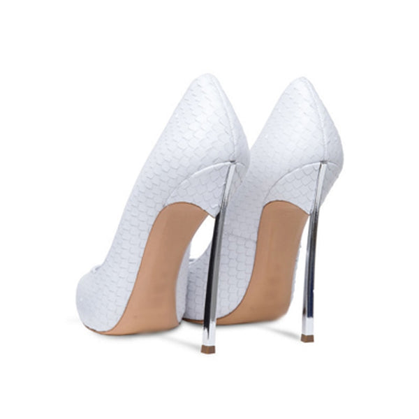"The ""Gia"" Snakeskin Stiletto High Heel Pumps - Multiple Colors"