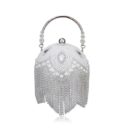"The ""Bella"" Beaded Handbag Clutch Purse - Multiple Colors"