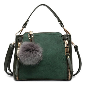 "The ""Fleur"" Suede Tassel Handbag Purse - Multiple Colors"