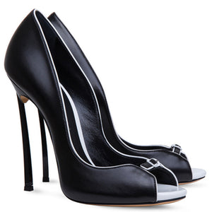 "The ""Clarice"" Stiletto High Heel Pumps - Multiple Colors"
