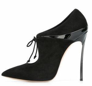 "The ""Madison"" Laced High Heel Pumps - Multiple Colors"