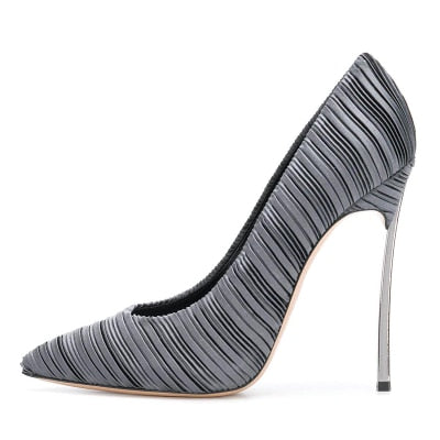 "The ""Giselle"" Satin High Heel Pumps - Multiple Colors"