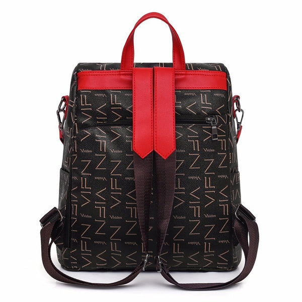 "The ""Roma"" Shoulder Bag Backpack - Multiple Colors"