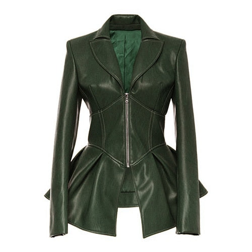 "The ""Bella"" Faux Leather Moto Jacket - Multiple Colors"