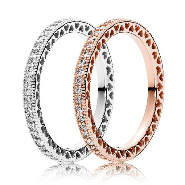 "The ""Stacy"" Crystal Ring - Multiple Colors"