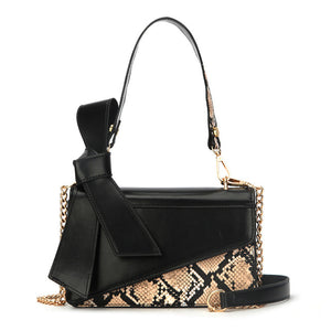 "The ""Vivienne"" Snakeskin Handbag Purse - Multiple Colors"