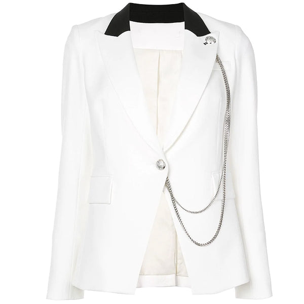 "The ""Iva"" Slim Fit Blazer"