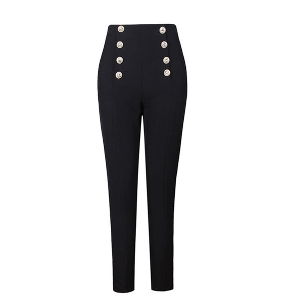 "The ""Veronica"" Pencil Pants Trousers - Multiple Colors"