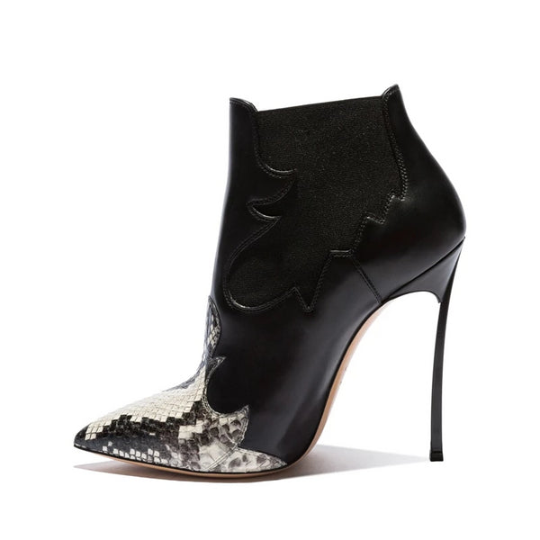 "The ""Lorraine"" Snakeskin High Heel Pumps - Multiple Colors"