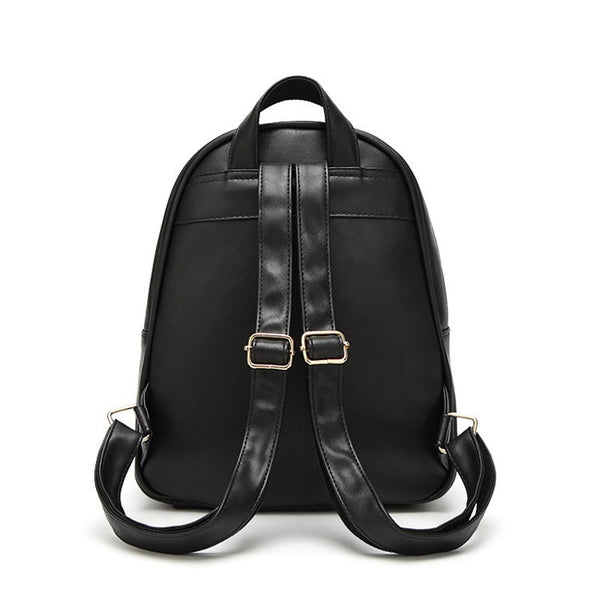"The ""Claire"" Quilted Shoulder Bag Backpack"