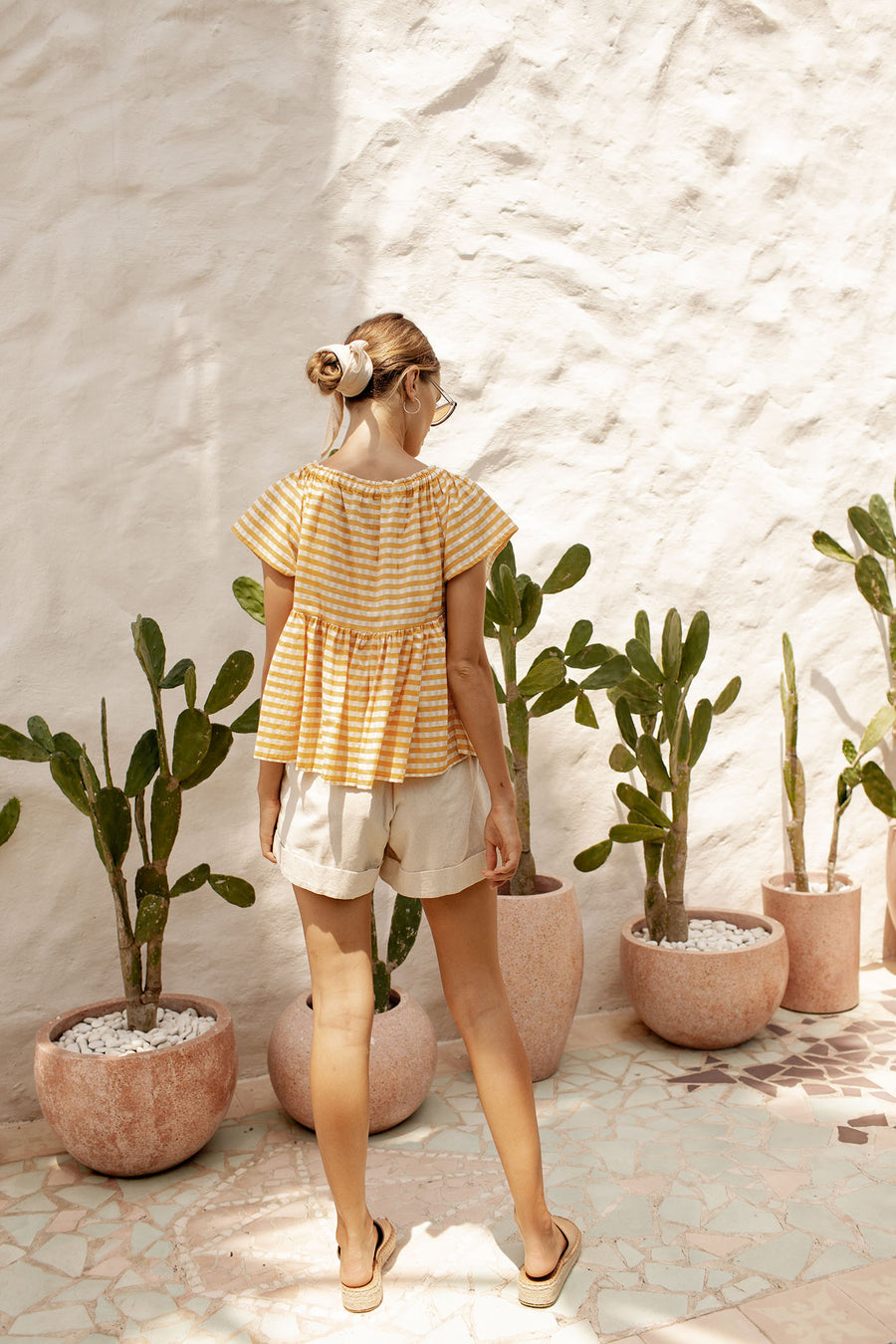 Maisie Top - Sunflower