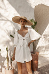 Aubrey Dress - Coconut White