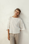 Pablo Top - Ivory - 100% Cotton Gauze