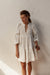 Bridgette Dress - Ivory - 100% Cotton Gauze
