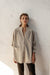Matisse Shirt - Natural Fawn - Linen Blend