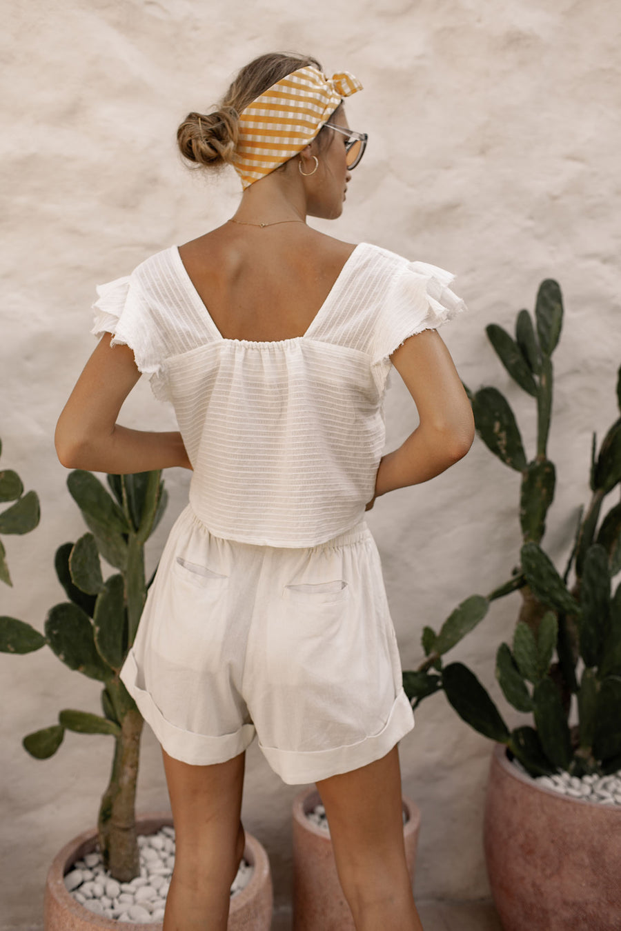 Bella Top - Coconut White