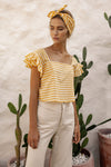 Bella Top - Sunflower