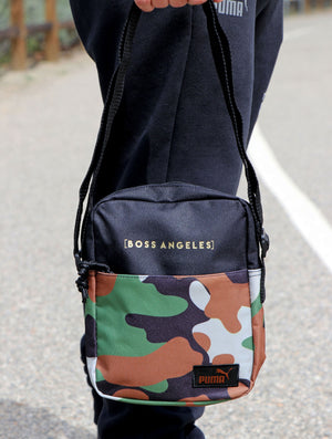Boss Angeles x Puma Camo Chest Bag