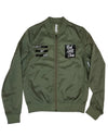 RICH GIRL TOUR - Military Green Lightweight Bomber