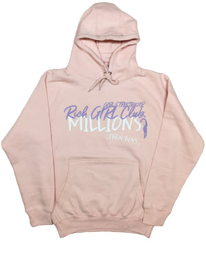 Millions - Soft Pink Hoodie