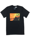 WILD DREAMS - Black Viscose Tee