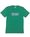 WE'D KELLY GREEN T-SHIRT F1RST WORLD APPAREL
