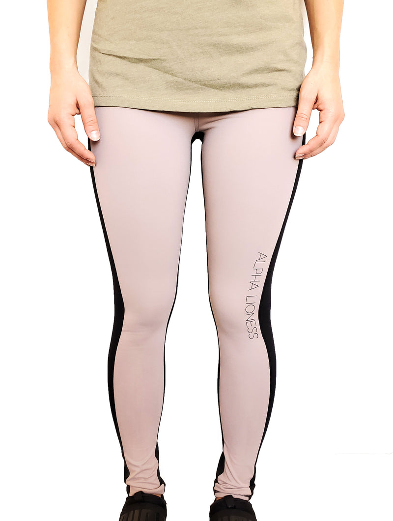 MIX MOCHA 3 - Two Tone Leggings