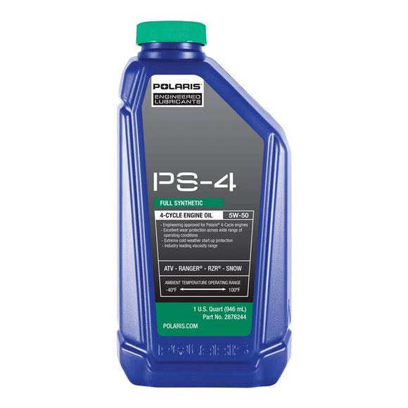 Polaris PS-4 Plus Engine Oil 1 Qt.