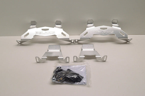 Genuine Pure Polaris Snowmobile RMK/Voyageur/Assault Lock & Ride Adjustable Fuel Can Rack Aluminum pt# 2879790