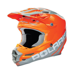 Polaris Fly F2 Carbon Fiber Helmet - Orange