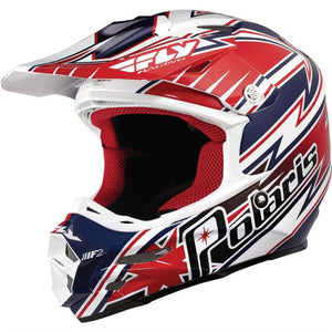 Polaris Fly F2 Carbon Fiber Helmet - Red