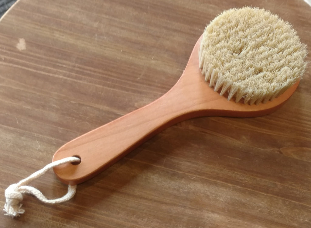 Natural Plant Bristled Body Brush